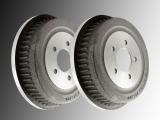 2x Brake Drum Dodge Caravan 1996-2000
