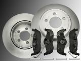 Rear Brake Rotors Ceramic Rear Brake Pads Jeep Grand Cherokee WH 2005-2010