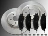 2 Bremsscheiben Satz Bremsklötze vorne Ford Mustang V6 2005-2014 316 mm Aussendurchmesser