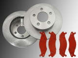 Front Brake Rotors and Front Brake Pads Jeep Wrangler YJ 1987-1989