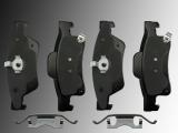 Ceramic Rear Brake Pads Dodge Durango 2011-2020
