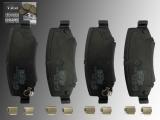 Keramik Bremsklötze Bremsbeläge vorne Dodge Journey 2008-2013 für 302mm Bremsscheibe