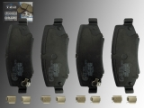Keramik Bremsklötze Bremsbeläge vorne Jeep Cherokee KK 2008-2012 Diesel Benziner