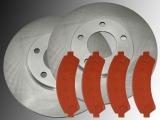 2 Bremsscheiben Bremsklötze vorne Chevrolet Blazer 1998-2005