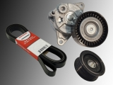 Automatic Belt Tensioner, Tensioner Pulley and Belt Jeep Grand Cherokee 2.7 CRD 2001-2004