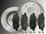 2 Bremsscheiben Keramik Bremsklötze hinten Dodge Nitro 2007-2011