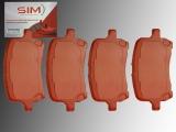 Bremsbeläge, Bremsklötze vorne Chevrolet HHR 2.2L 2.4L 2006-2011
