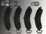 Keramik Bremsklötze hinten Cadillac Escalade 5.3L 6.0L V8 4WD 2002-2006