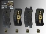 Keramik Bremsklötze hinten Jeep Patriot 2007-2017 302mm Bremsscheiben
