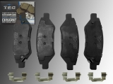 Ceramic Rear Brake Pads Cadillac SRX 2010-2016