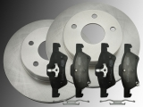 Front Brake Rotors 281mm Ceramic Front Brake Pads Chrysler Voyager RG 2001-2007