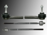 2x Tie Rod End Inner 2x Tie Rod End Outer Chrysler Voyager (RG) / Frand Voyager (RG) 2001-2007