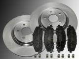 2 Bremsscheiben 330mm Keramik Bremsklötze vorne Chrysler Grand Voyager Lancia Voyager 2012-2016