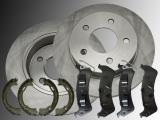 2x Bremsscheiben, Bremsklötze Handbremsbacken Hinten Ford Windstar 1995-2003