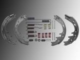 Bremsbacken Bremsbeläge Trommelbremse incl. Federsatz Dodge Ram 1500 Pickup 2000-2001