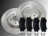 2 Bremsscheiben 321mm Keramik Bremsklötze vorne Chevrolet Camaro 3.6L V6 2010-2014