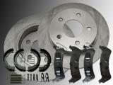 2x Bremsscheiben Bremsklötze Handbremse Federn Hinten Ford Windstar 1995-2003