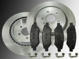 2 Bremsscheiben 315mm Keramik Bremsbeläge hinten Chevrolet Camaro 3.6L V6 2010-2014