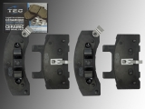 Ceramic Front Brake Pads Chevrolet Tahoe 1995-2000