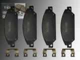 Keramik Bremsklötze, Bremsbeläge vorne Chevrolet Avalanche 2007-2008