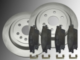 Brake Rotors Ceramic Rear Brake Pads Cadillac SRX 2004-2009
