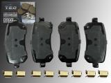 Keramik Bremsklötze, Bremsbeläge hinten Volkswagen Routan 2009 -2012