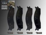 Ceramic Front Brake Pads Dodge RAM 2500, 3500 2003-2008