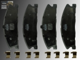 Keramik Bremsklötze vorne Lincoln MKT 2013-2019 für 352mm Bremsscheiben
