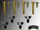 Disc brake caliper guide pin kit, hardware Jeep Grand Cherokee WJ 1999-2004 Akebono