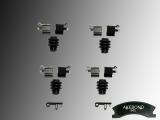 Disc brake caliper hardware kit Jeep Grand Cherokee WJ 1999-2004 Akebono