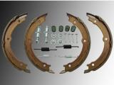 Parking Brake Shoes incl. Hardware Hummer H3 2006-2010, H3T 2009-2010