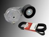 Automatic Belt Tensioner and Serpentine Belt Hummer H3 3.5L 3.7L R5 2006 - 2010