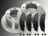 Rear Brake Rotors Ceramic Rear Brake Pads Dodge RAM 2500 3500 Pickup 2009-2010