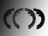 Rear Drum Brake Shoes Set Chevrolet C3500, K3500 1988-1996 Shoes 64 mm wide
