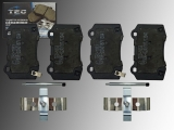 Keramik Bremsklötze hinten Jeep Grand Cherokee SRT8 2012-2018