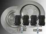 Rear Brake Rotors Ceramic Rear Brake Pads Chrysler 300C SRT8 2005-2010