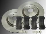 2 Bremsscheiben Keramik Bremsklötze vorne Jeep Grand Cherokee SRT8 2012-2020 WK2