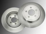 Solid Rear Brake Rotors Dodge Durango 2011-2020