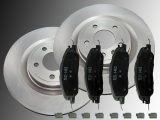 2 Bremsscheiben Keramik Bremsklötze vorne Ford Mustang 3.7L, 5.0L 2011-2014 336mm Aussendurchmesser