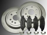 Rear Breke Rotors Ceramic Rear Brake Pads Cadillac SRX 2010-2016