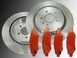 2 Bremsscheiben 315mm Bremsklötze hinten Chevrolet Camaro 3.6L V6 2010-2014