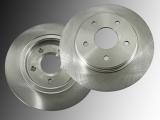 2 Bremsscheiben hinten Chrysler Grand Voyager 2008-2012 305mm Durchmesser