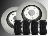 2 Bremsscheiben Keramik Bremsklötze vorne Jeep Grand Cherokee SRT8 WK 2006-2010