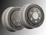 2x Brake Drum Dodge Dakota 1991-2002