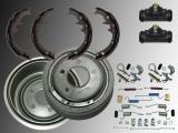 Rear Brake Drum, Rear Brake Shoes, Wheel Cylinder Hardware Kit incl. Adjuster Ford Explorer 1991-1994