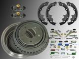 2x Bremstrommel Bremsbacken Federn Ensteller Satz Chevrolet Astro 1990-2002