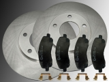 Front Brake Rotors Creamic Front Brake Pads Chrysler Sebring 2007-2010