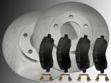 Front Brake Rotors Creamic Front Brake Pads Dodge Avenger 2008-2014
