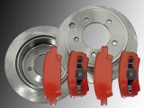 2 Rear Brake Rotors 262mm Rear Brake Pads Dodge Avenger 2008-2014