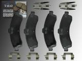 Keramik Bremsklötze Vorne Chevrolet Trailblazer 2002-2005 Trailblazer EXT